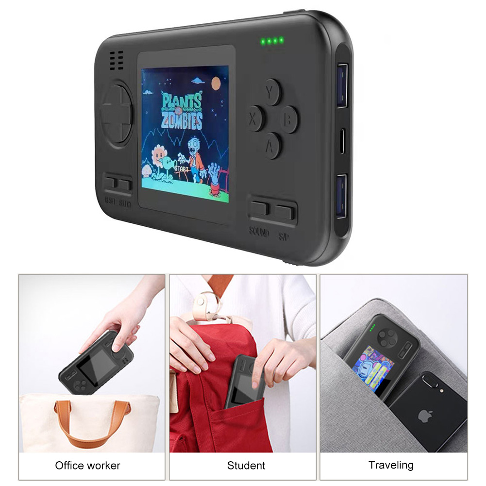 Game Console 8000mAh Video Game Retro Handheld 2.8inch Screen Portable Children Game Players Portable Charger Built-in 416 Game