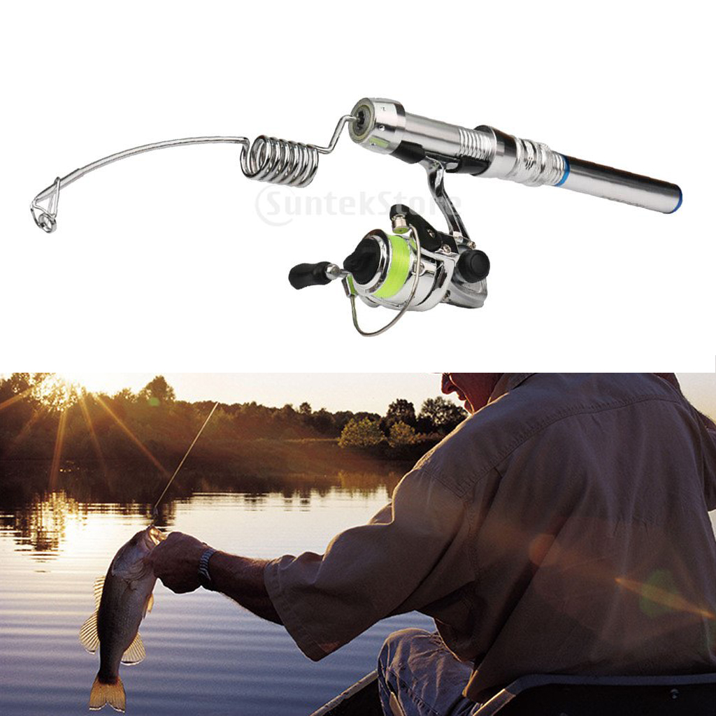 Detachable Micro Spinning Fishing Rod And Reel