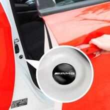 4 шт. автомобильные наклейки, амортизатор двери, автомобильные аксессуары для Benz Amg W108, W124, W126, W140, W168, W169, W176, W177, W203, W204, W205, W210