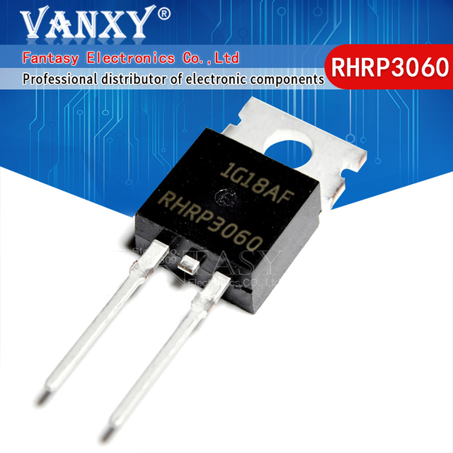 10PCS RHRP3060 TO220 2 fast recovery rectifier diode ZU 220 600V 30A