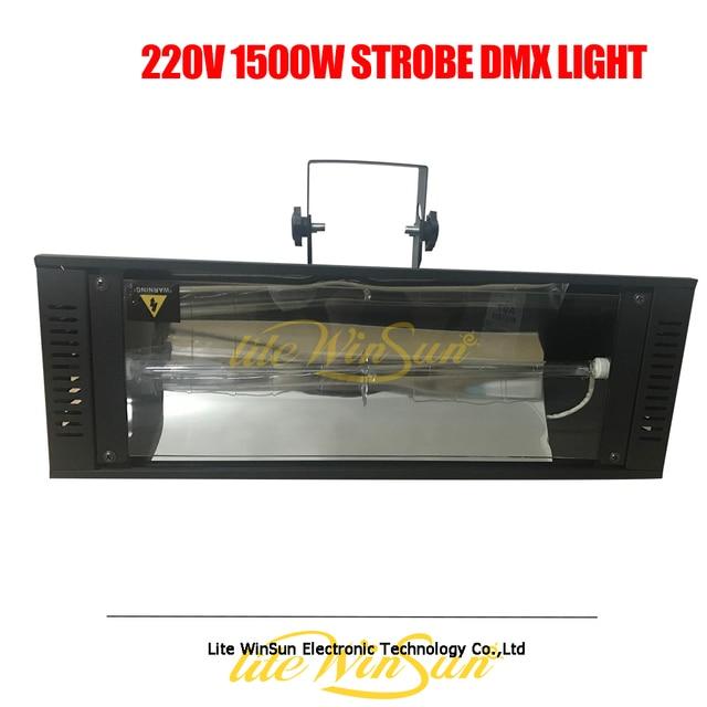 Litewinsune 1500 Вт стробоскоп DMX Освещение Дискотека DJ 220 В автоматический ксеноновый свет мигающий свет Высокая мощность