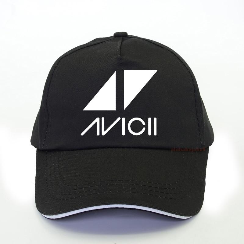 Newest Fashion Dj Avicii Baseball Cap Rip Avicii Print Man Hip Hop Rock Cap Fashion Fan's Snapback Hat Summer Bone Gorras Hombre