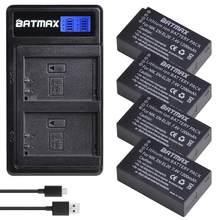 Batterie Batmax EL20 en el20 + nouveau LCD, double chargeur USB pour Nikon Coolpix P1000, Nikon1 J1, J2, J3 Nikon1 AW1