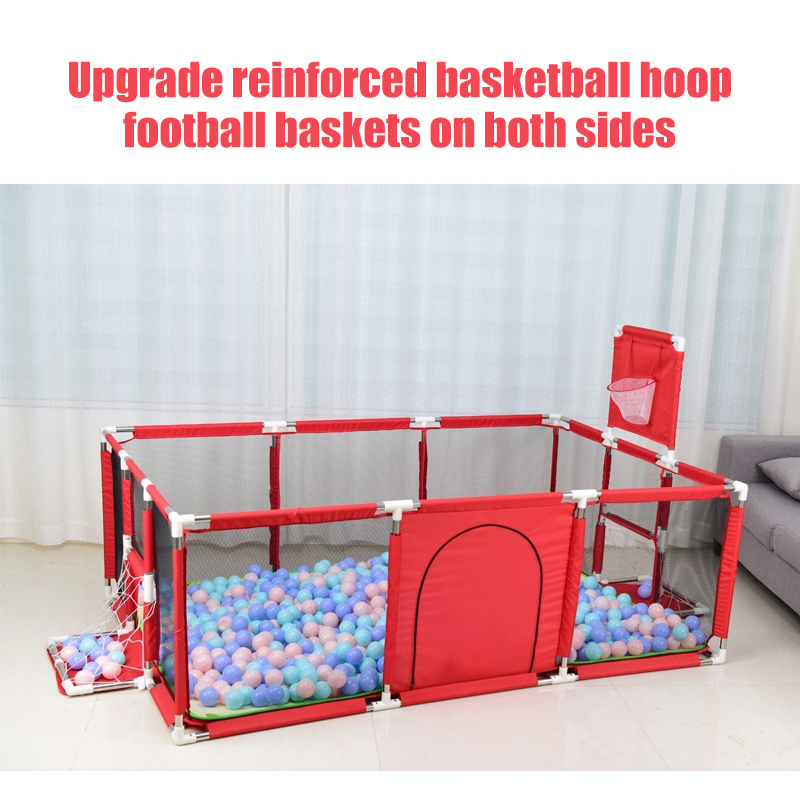 Baby Playpen Made With Stainless Steel Tube For Baby Pool Balls