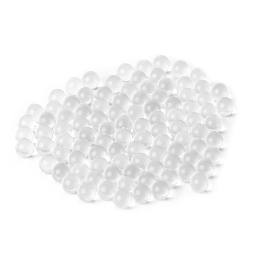 100pcs Glass Ball Outdoor Hunting Slingshot Shot Pinball Catapult Target Ammo M5TC