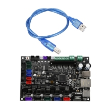 MKS SBASE V1.3 3D Printer Control Board, 32bit Arm Platform Smooth Open Source MCU-LPC1768, Compatible with Smoothieware 3d printer parts mks pwc v2 0 finish off support for marlin smoothieware