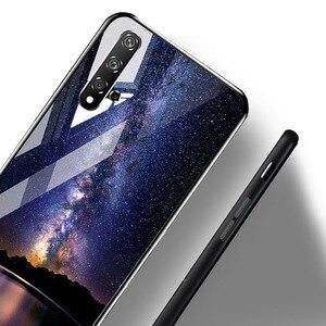 Image 3 - Étui de luxe Pour Huawei P30 Téléphone Pare chocs Motif Funda Pour Huawei P30 ELE L29 ELE L09 ELE L04 Trempé Verre Shockpro Couverture