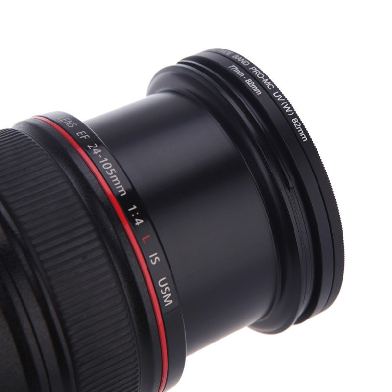 Hot Sale 37 49 <font><b>52</b></font> 55 58 62 <font><b>67</b></font> 72 77 82 mm Lens Step Up Down Ring Filter All Camera Adapter Set image