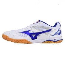Genuine Mizuno National Team Table Tennis Shoes For Men Women Comfort Light Breathable Sport Sneakers