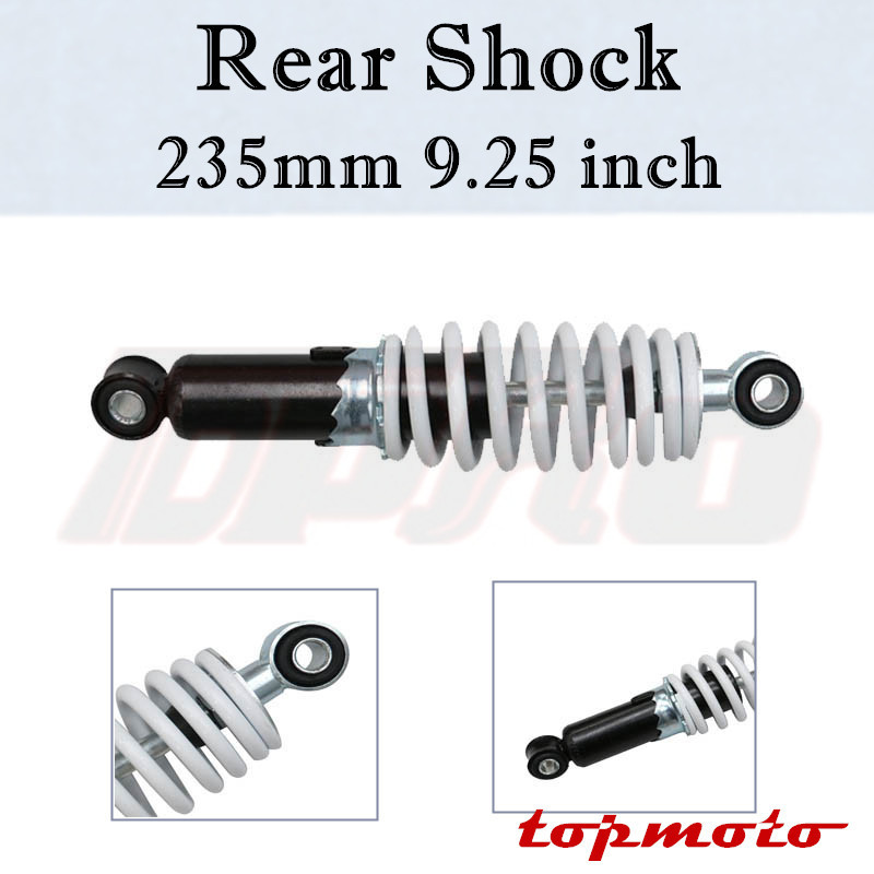Shock Absorber Mini Moto Dirtbike Rear Suspension Spring 190mm Go Kart ATV QUAD