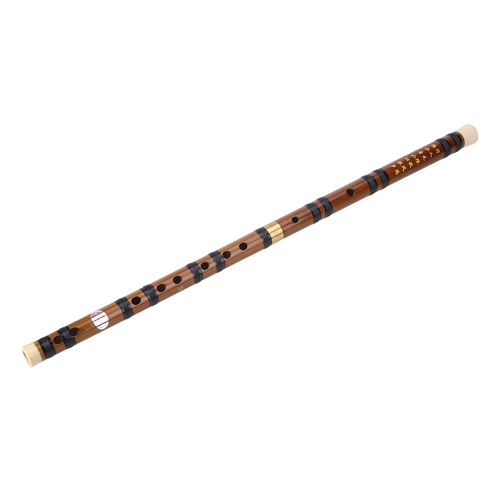 Bamboo Flute Study Music Handmade Teaching Clarinet Practical Durable Removable Tradition Beginner D Tone image