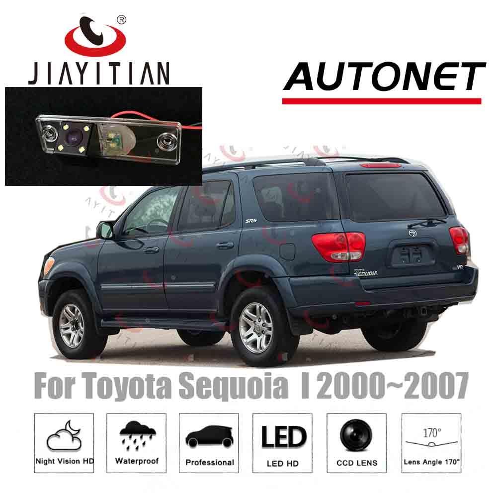 JiaYiTian kamera kamery samochodu dla Toyota Sequoia 2000 2001 2002 2003 2004 2005 2006 2007 CCD Night Vision kamera cofania kamera parkowania