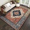 European style living room carpet floor mats bay window mats office carpet printing crawling mats
