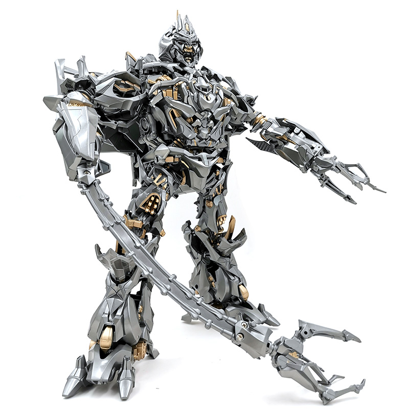 BMB MPM08 MPM-08 Transformation Action Figure Toy MEGA Galvatron KO Movie Model ABS LS12 Alloy T-08 Deformation Car Robot Figma