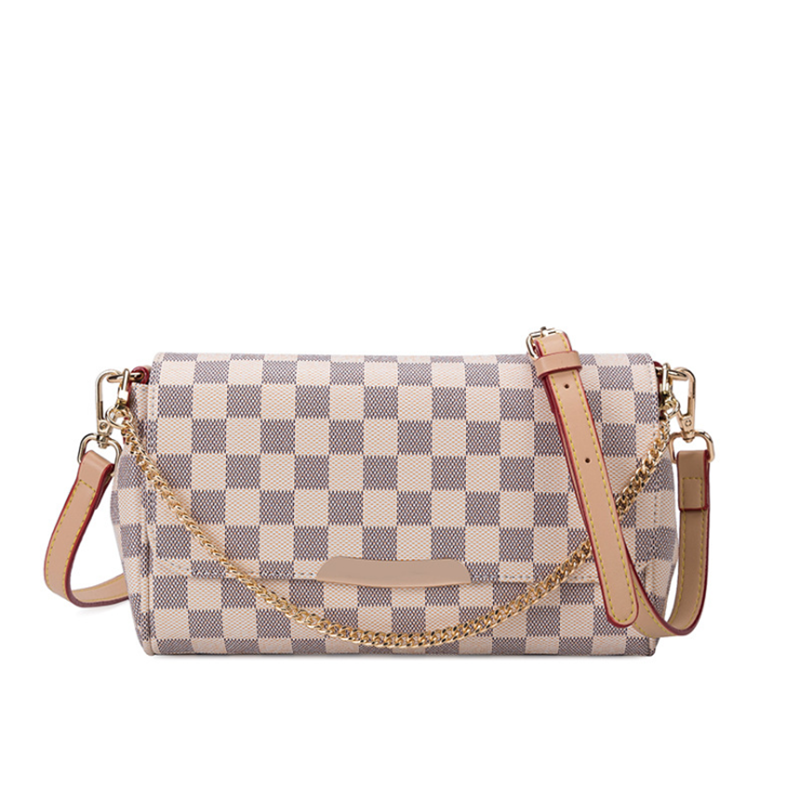 2020 New Fashion European and American High Quality Pu Luxury Plaid Design Ladies Female Shoulder Mini Women's bags