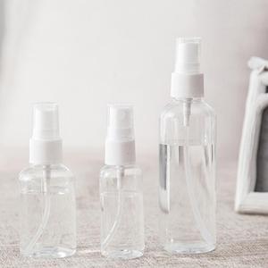 1 шт. 30 мл 50 мл 100 мл дорожный прозрачный пластмассовый распылитель маленький мини пустой Заправляемый спрей бутылка случайный цвет