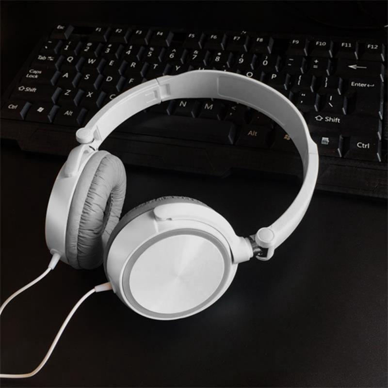 Gaming Headphone 3.5mm Wired Headset  Stereo Earphone Universal  Headset For Smartphone Pc For Xiaomi Huawe Portable Audio 8