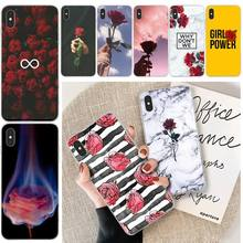 Rose Romantic Love Customer High Quality Phone Case For iphone 6 6s plus 7 8 plus X XS XR XS MAX 11 11 pro 11 Pro Max Cover byloving gintama anime customer high quality phone case for iphone 6 6s plus 7 8 plus x xs xr xs max 11 11 pro 11 pro max cover