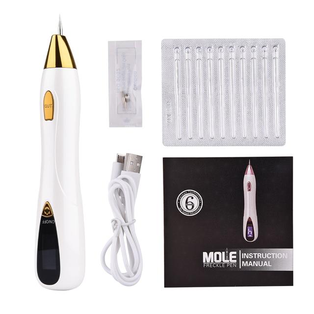 Laser Mol Tattoo Sproet Verwijdering Prijs Pen Lcd Sweep Spot Mol Wratten Likdoorns Dark Spot Machine Huidverzorging