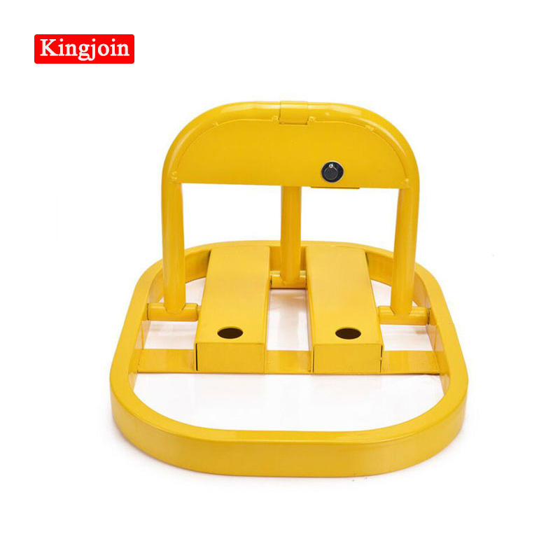KINGJOIN Outdoor Second-hand Waterproof Manual Parking Barrier Parking Lock Parking Space Saves Space