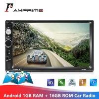 AMPrime Android 2 Din Car Radio 1+16GB Autoradio Multimedia Player GPS Wifi Mirror Link 2din Cassette Recorder Auto Radios