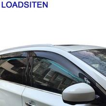 цена на Accessories Parts Automobile Decorative Automovil Styling Car Anti Rain Window Visor Awnings Shelters FOR Infiniti Q50 Q50L Q7L