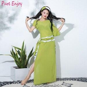 Новая женщина роскошные блестки народный танец танец живота халат балади шааби платье саиди платье производительности 4 шт. Набор