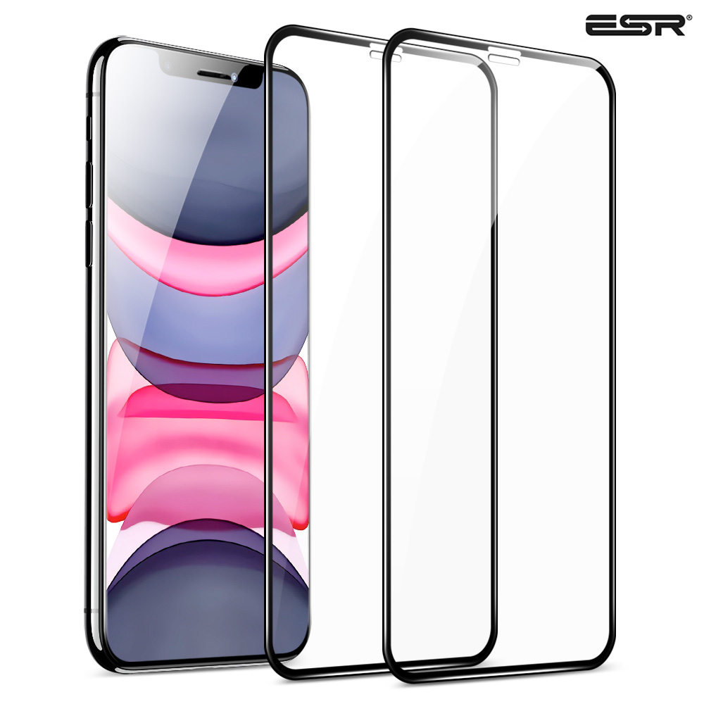 2pcs/lot ESR Tempered Glass For IPhone 11 Pro Max Screen Protector Clear Premium Protective Glass For IPhone X XR XS Max Glass