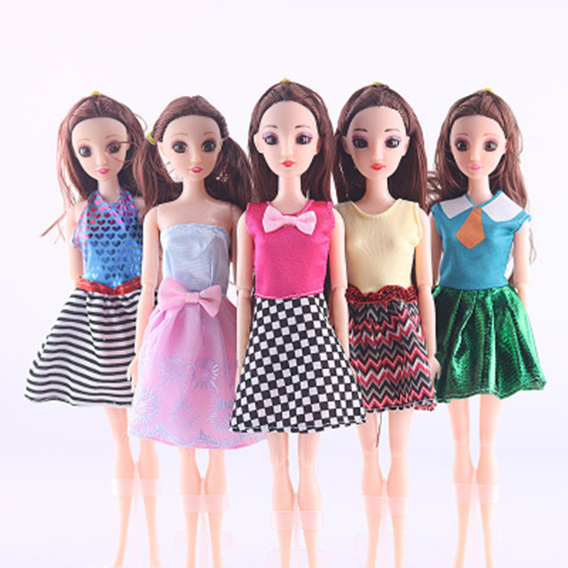 GM 30CM New Fashion Doll Casual Skirt Clothes Dress Up Dress Wedding Dress Clothing handmade Accessories Best DIY Toys for Doll