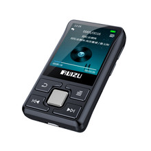 Спортивный Bluetooth MP3-плеер RUIZU X55, 8 ГБ, мини-прищепка с поддержкой экрана, FM, запись, электронная книга, часы, шагомер, музыкальный плеер