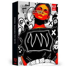 ADOBE ILLUSTRATOR CC 2019 Software Industrial Standard Vectors For Multimedia And Online Images Win/Mac
