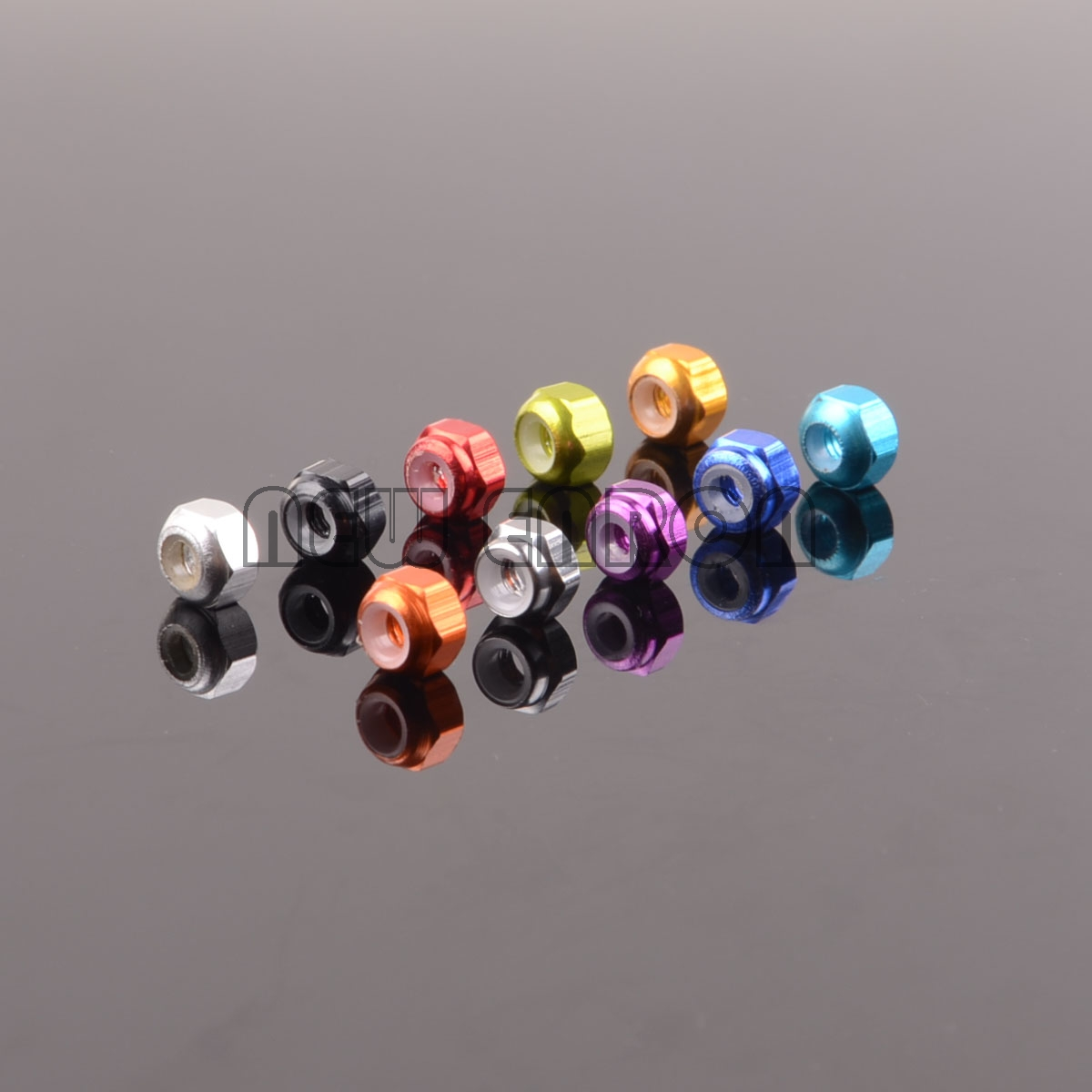 NEW ENRON 1:18 M3 Aluminum Lock Nut Tire Nut 8P Wltoys RC CAR A949 A959 A969 A979 1/18 A949-49
