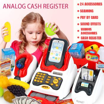 Nowa symulacja Masters klasyczna kasa fiskalna zabawki dziecięce do odgrywania ról kasa do supermarketu prezenty dla dzieci tanie i dobre opinie PG12138 Zawodów 5-7 lat 8 ~ 13 Lat Chiny certyfikat (3C)