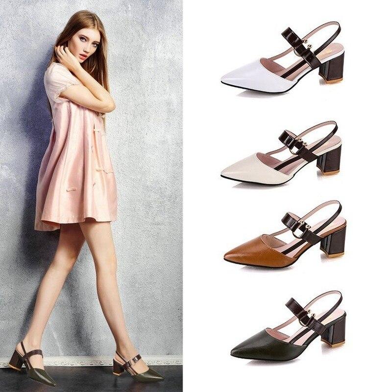 2020 sandálias femininas de verão novo pontiagudo