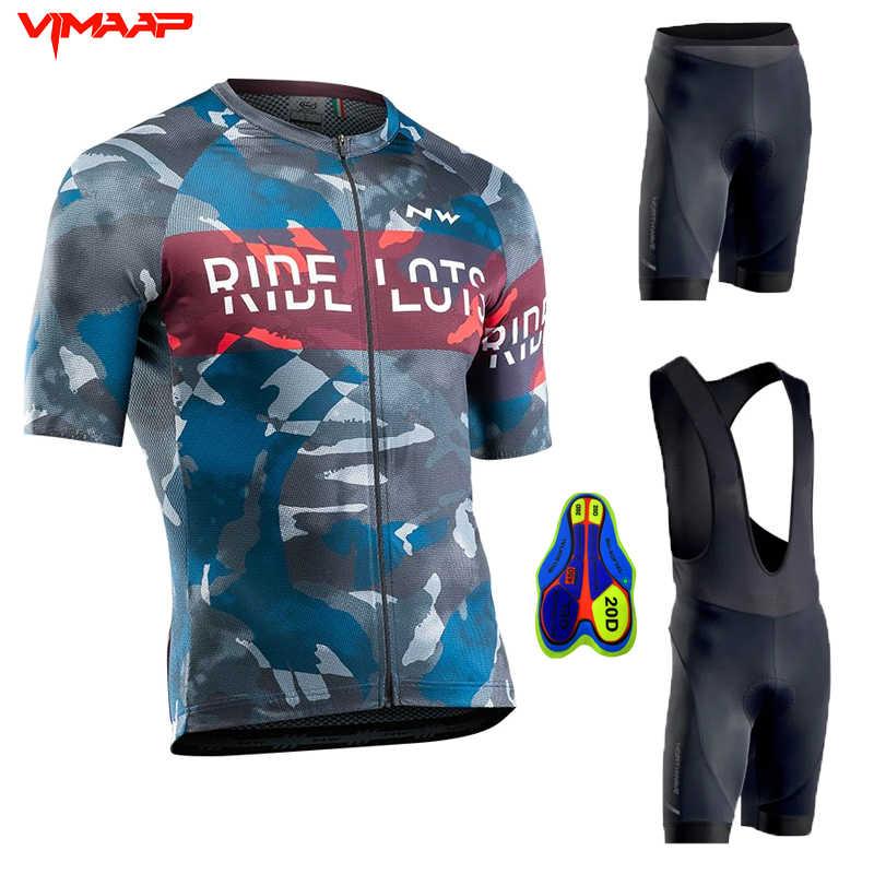 2020 Red Team ASTANA einen.Kreislauf.durchmachenClothing Set Herren Fahrrad Maillot MTB Racing Ropa Ciclismo Sommer Hombre Roupa Bike Jersey