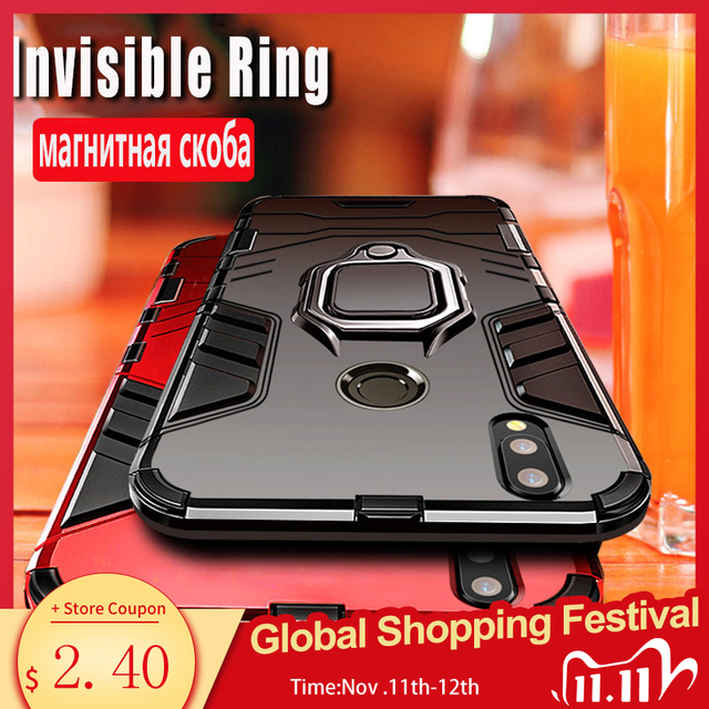 שריון מקרה עבור Redmi הערה 8 פרו 8 7 4X 5 6 פרו מקרה עבור Xiaomi Mi מקסימום 3 9 לייט 8 9T 9SE A1 A2 לערבב 2 2S Redmi 6 פרו