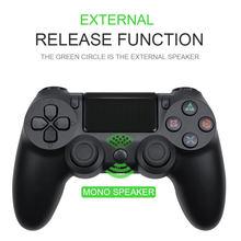 Joystick sem fio bluetooth para ps4 controlador apto para mando ps4 console para playstation dualshock 4 gamepad consoles de jogos de vídeo