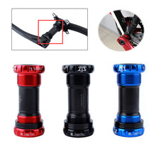 68mm/73mm BB Screw/Thread Type Bicycle Bike Axis Bottom Bracket High Quality Aluminum Alloy Tooth Plate Parts