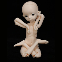 BJD Doll Body 1/6 Rod Figures Naked Toy Boy Girl Gift Doll Baby Real Resin Toys for Children 2DDoll