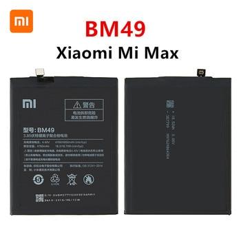Xiao mi 100% Orginal BM49 4760mAh Battery For Xiaomi Mi Max BM49 High Quality Phone Replacement Batteries high quality for xiao mi bm51 battery 5400mah in stock