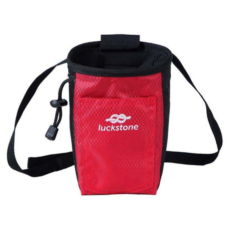 Climbing Chalk Bag Magnesium Powder Storage Pouch With Waist Belt For Rock Climbing Bouldering Gymnastics Weightlifting