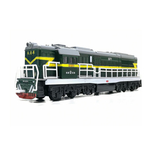 цена на 1/87 Scale Alloy Pull Back Model Train Toy Locomotive Miniature Model Sound Light Children Toys Car Free Shipping