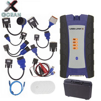 NEXIQed 2 USB Link USB/Bluetooth Optional Diesel Trucks Diagnostic Tool NEXIQed 2 USB Link Full Cables With Software