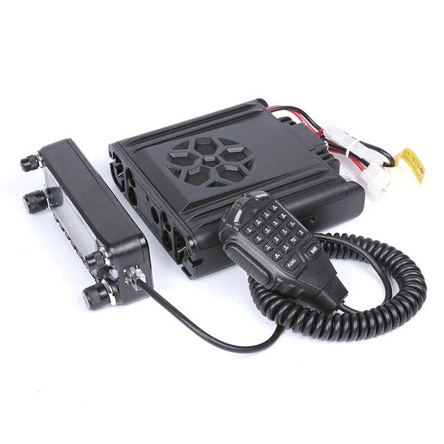 Zastone D9000 Car walkie talkie Radio Station 50W UHF/VHF 136-174/400-520MHz Two way radio Ham HF Transceiver 4