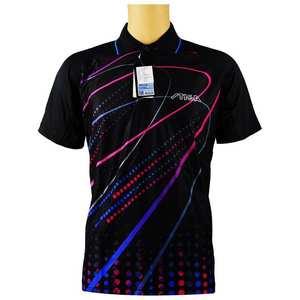 Подлинная Одежда для настольного тенниса Stiga для мужчин и женщин, футболка с короткими рукавами, футболка для пинг-понга, спортивные трикота...