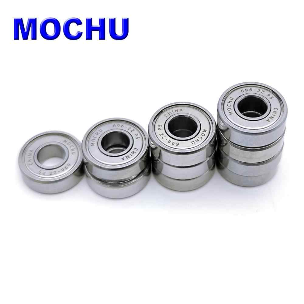 10 696-2RS 6x15 Sealed 6x15x5 Miniature 696RS Deep Groove Radial Ball Bearings