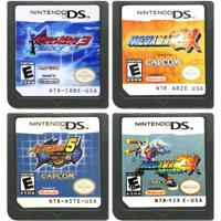 DS Video Game Cartridge Console Card Megaa Man Series For Nintendo DS 1
