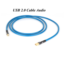 HI End Silver Plated USB CABLE USB2.0 A to B Digital Audio DAC Cable, Professional USB 2.0 Cable Audio USB Turntable Lead Cable