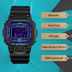 Image 2 - Casio smart Watch uomo g shock top luxury brand set 200m impermeabile orologio al quarzo sportivo LED digital diving militare orologio uomo g shock Solar Bluetooth radio controllato orologio da polso relogio masculino