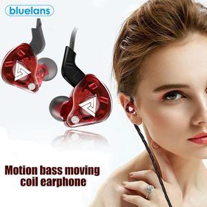 3,5 мм медный драйвер, Hi-Fi спортивные наушники-вкладыши для бега с микрофоном, гарнитура, музыкальные наушники для Iphone, xiaomi